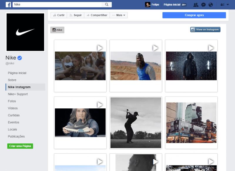Aba personalizada Facebook